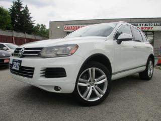 Used 2012 Volkswagen Touareg TDI Execline-AWD-NAVI-LTHER-CAMERA-PANO ROOF for sale in Scarborough, ON