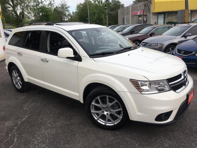 2014 Dodge Journey R/T/ AWD/ 7 SEATER/ LEATHER/ SUNROOF/ NAVI/ CAM!