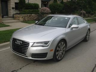 Used 2012 Audi A7 3.0T,NAVI, BLINDSPOT, NO ACCIDENTS, LOW KMS,CERTIF for sale in Toronto, ON