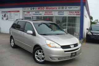 Used 2004 Toyota Sienna XLE for sale in Toronto, ON