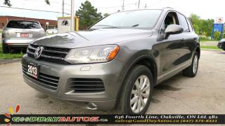 Used 2013 Volkswagen Touareg HIGHLINE for sale in Oakville, ON