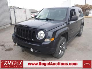 Used 2015 Jeep Patriot High Altitude 4D Utility 4WD 2.4L for sale in Calgary, AB