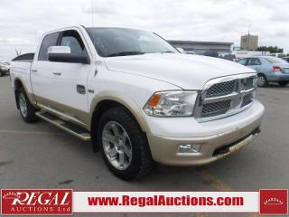Used 2011 RAM 1500 Laramie Longhorn Crew CAB 4WD for sale in Calgary, AB