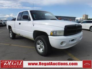 Used 2000 Dodge Ram 1500 Sport 4D Quad CAB 4WD for sale in Calgary, AB