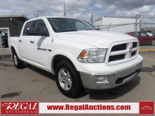 Used 2012 RAM 1500 4D Crew CAB 4WD for sale in Calgary, AB