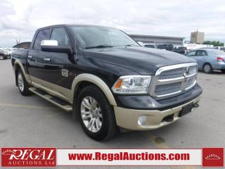 Used 2016 RAM 1500 LARAMIE LONGHORN CREW CAB SWB for sale in Calgary, AB