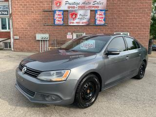 Used 2014 Volkswagen Jetta TDI/DIESEL/6 SPEED/2T/NO ACCIDENT/SAFETY INCLUDED for sale in Cambridge, ON