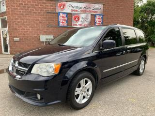 Used 2011 Dodge Grand Caravan Crew+/DVD/NAVIGATION/POWER SLIDING DOORS for sale in Cambridge, ON