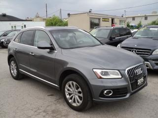 Used 2015 Audi Q5 2.0T Progressiv NAVIGATION B-CAMERA PANORAMIC SUN for sale in Oakville, ON