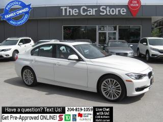 Used 2013 BMW 3 Series AWD LEATHER NAVI PUSH START, CLEAN TITLE! for sale in Winnipeg, MB