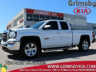 Used 2016 GMC Sierra 1500 SLE  4X4  Leather  Remote Start  Loaded for sale in Grimsby, ON