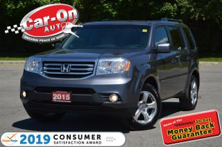 Used 2015 Honda Pilot EX-L w/RES 8 SEAT 4X4 LEATHER SUNROOF DVD LOADED for sale in Ottawa, ON