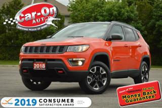 Used 2018 Jeep Compass Trailhawk 4X4 NAV REAR CAM HTD SEATS LOADED for sale in Ottawa, ON