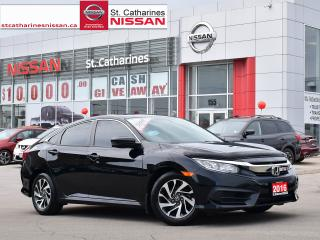 Used 2016 Honda Civic Sedan 2016 Honda Civic Sedan - 4dr CVT EX for sale in St. Catharines, ON