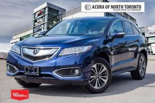 Used 2017 Acura RDX Elite at No Accident| 7yrs Warranty| Remote Start for sale in Thornhill, ON