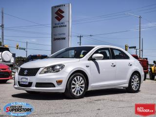 Used 2011 Suzuki Kizashi S ~Power Seat ~Heated Seats ~Alloy Wheels for sale in Barrie, ON