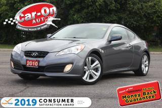 Used 2010 Hyundai Genesis Coupe 2.0T Premium 6 SPEED LEATHER SUNROOF HTD SEATS for sale in Ottawa, ON