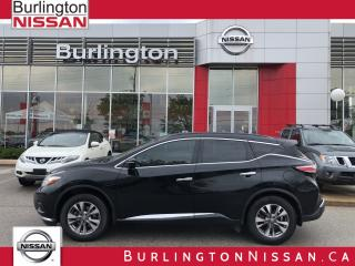 Used 2015 Nissan Murano SV, AWD, ACCIDENT FREE, 1 OWNER ! for sale in Burlington, ON
