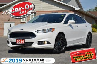 Used 2014 Ford Fusion SE EcoBoost LEATHER NAV SUNROOF REAR CAM LOADED for sale in Ottawa, ON