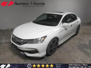 Used 2016 Honda Accord Touring| Loaded| Leather| Navi| for sale in Woodbridge, ON