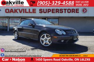 Used 2005 Mercedes-Benz CLK 500 | AMG PKG | CONVERTIBLE | VERY LOW KM for sale in Oakville, ON