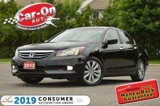 Used 2012 Honda Accord EX-L V6 LEATHER SUNROOF HTD SEATS BLUETOOTH for sale in Ottawa, ON