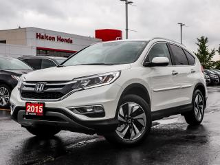 Used 2015 Honda CR-V TOURING|SERVICE HISTORY ON FILE for sale in Burlington, ON