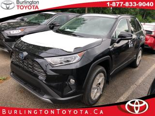 New 2019 Toyota RAV4 Hybrid Limited for sale in Burlington, ON