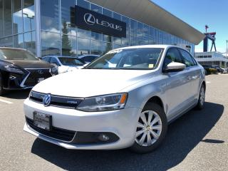 Used 2013 Volkswagen Jetta Turbocharged Hybrid Cmfrtlne 1.4T 7sp DSG w/ Tip C for sale in North Vancouver, BC
