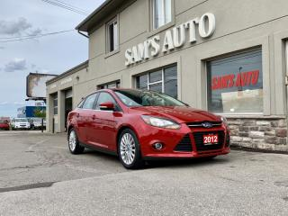 Used 2012 Ford Focus 4dr Sdn Titanium for sale in Hamilton, ON