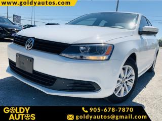 Used 2014 Volkswagen Jetta Sedan Sunroof | Alloy Wheels | Power Seats | Keyless Entry for sale in Mississauga, ON