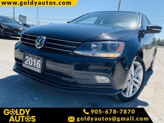 Used 2016 Volkswagen Jetta Sedan | 1.8 jetta Highline| ONE OWNER | for sale in Mississauga, ON