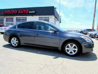 Used 2008 Nissan Altima 2.5 SL SUNROOF LEATHER CERTIFIED 2YR WARRANTY for sale in Milton, ON