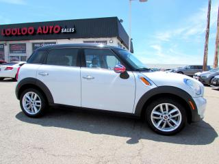 Used 2012 MINI Cooper Countryman Countryman 6 Speed Manual Bluetooth Certified for sale in Milton, ON