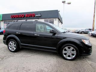 Used 2012 Dodge Journey R/T AWD 7 Passenger  Navigation Camera DVD Certified for sale in Milton, ON