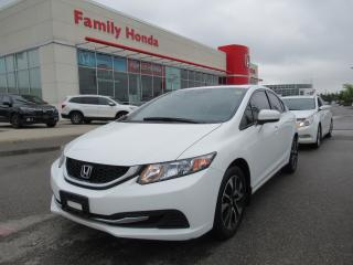 Used 2014 Honda Civic EX, REVERSE CAMERA, MOONROOF for sale in Brampton, ON