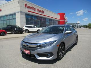 Used 2017 Honda Civic Touring for sale in Brampton, ON