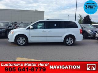 Used 2017 Dodge Grand Caravan Crew Plus  LEATH NAV DVD BS CAM for sale in St. Catharines, ON