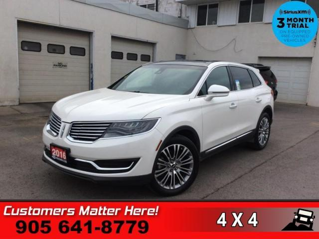 2016 Lincoln MKX Reserve  RESERVE CS NAV PANO-ROOF 4X-HS