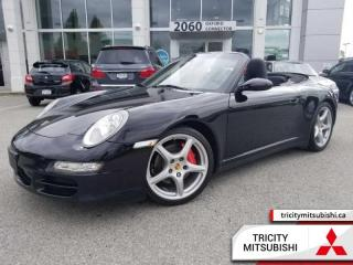 Used 2008 Porsche 911 CARRERA 4S  LEATHER-CONVERTIBLE-MANUAL for sale in Port Coquitlam, BC