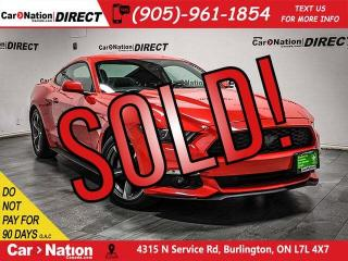 Used 2016 Ford Mustang V6| LOCAL TRADE| BACK UP CAM & SENSORS| for sale in Burlington, ON