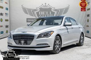 Used 2016 Hyundai Genesis Sedan Luxury, NAVI, BACK-UP CAM, PANO ROOF, PUSH START for sale in Toronto, ON