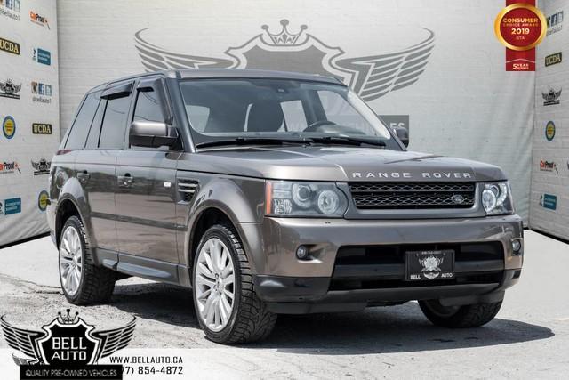 2010 Land Rover Range Rover Sport LUX, V8, AWD, NAVI, BACK-UP CAM, SUNROOF