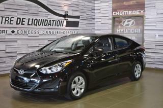 Used 2016 Hyundai Elantra LE-R for sale in Laval, QC