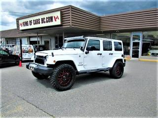 Used 2018 Jeep Wrangler Unlimited Sahara for sale in Langley, BC