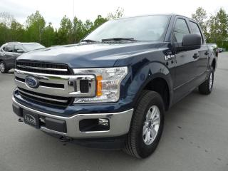 Used 2018 Ford F-150 XLT, CREW CAB 4X4, 1 PROPRIO,  JAMAIS AC for sale in Vallée-Jonction, QC