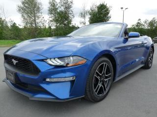 Used 2018 Ford Mustang CONVERTIBLE, PREMIUM,  NAVI, CUIR, ÉCOBO for sale in Vallée-Jonction, QC