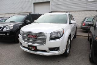 Used 2016 GMC Acadia Denali for sale in Whitby, ON
