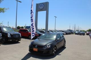 Used 2016 Volkswagen GTI 5-Door Autobahn for sale in Whitby, ON