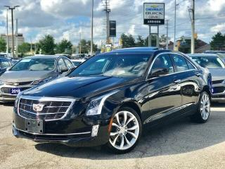 Used 2015 Cadillac ATS Sedan AWD 3.6L Performance Navi|Sunroof|RED Leathe for sale in Mississauga, ON